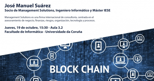 Conferencia: Aplicación del Blockchain al sector financiero