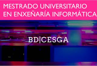 Actividades del MUEI:  BigData en el CESGA